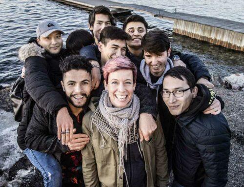 Svenska hjältar: Cecilia, Frivilliga familjehem på Värmdö